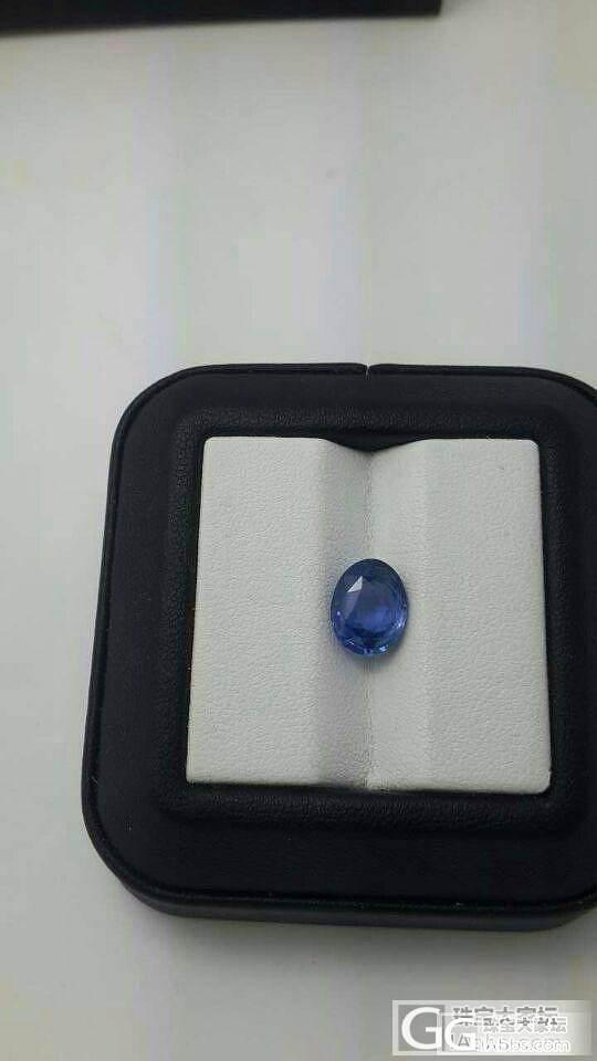 【商业晒货交易】3颗 斯里兰卡蓝宝,..._宝石
