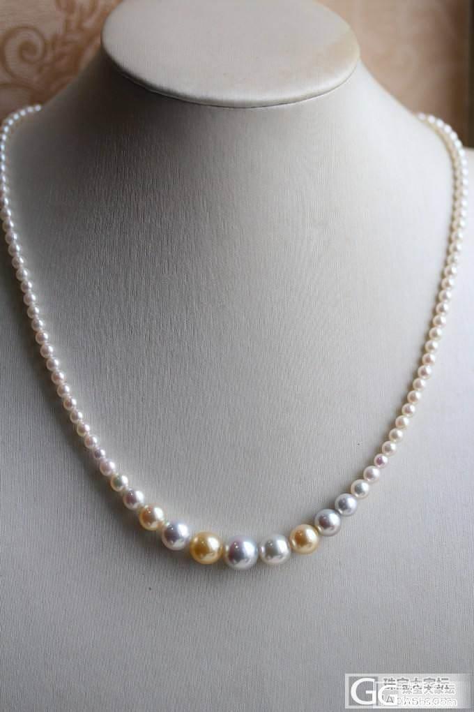 谁见过这种 Akoya 塔链,这是市面几乎绝迹的项链_有机宝石