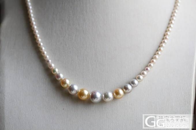 谁见过这种 Akoya 塔链,这是市..._有机宝石