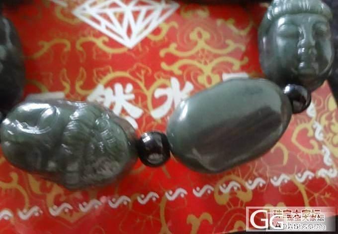 天然玉石 白玉髓玛瑙观音 新疆和田青玉观音手链 大气十足_传统玉石