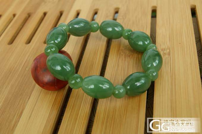 一大波碧玉在靠近:明价9件:挂件、镯子、项链和手链等_传统玉石