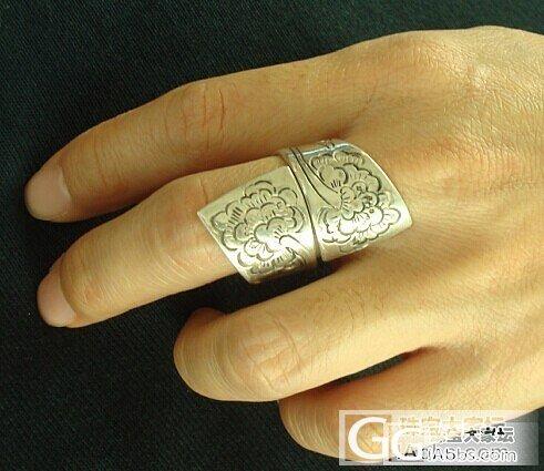 不光有老银,新银咱也秀秀。_手镯手链戒指银