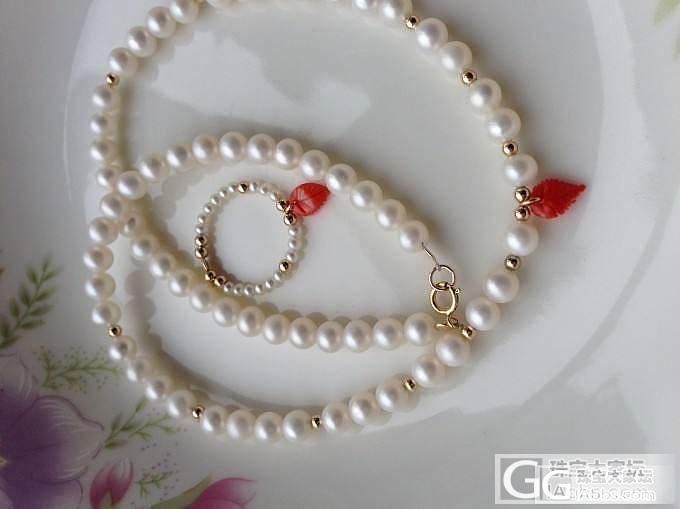 天然淡水珍珠戒子2.5mm_有机宝石