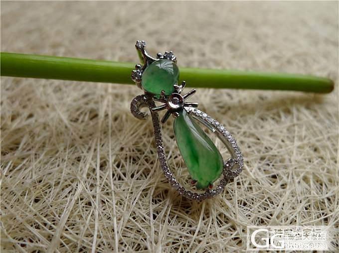 绿色小猫吊坠售价4200,微信号:feicui10_小蛋蛋美玉店