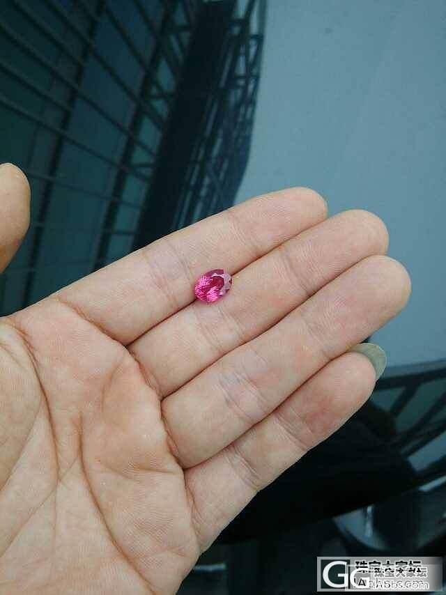 3.68卡尖晶,你究竟是樱桃红还是霓..._尖晶石刻面宝石