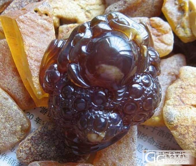 缅甸棕红紫罗兰,带点根珀,金蟾_琥珀