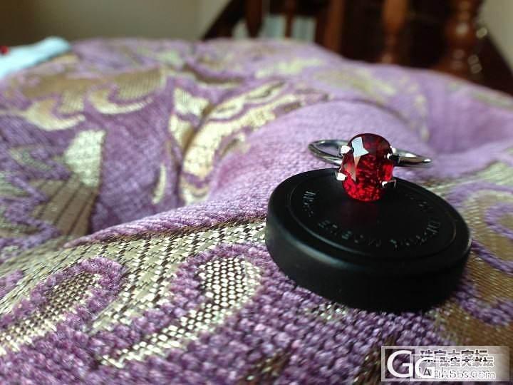 老婆的最爱,美就一个字_红宝石戒指刻面宝石
