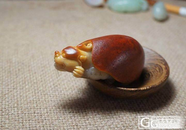 YU石之美---灵龟_传统玉石