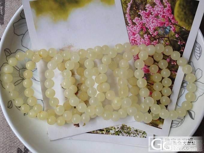 花白蜜小扣子、小雕件,绞白佛珠,8-..._有机宝石