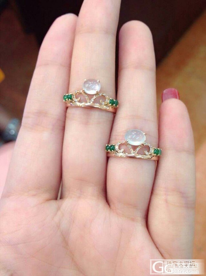 超级可爱的戒指 你见过吗_翡翠