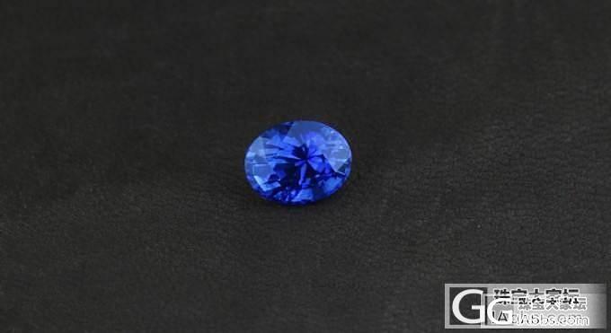 【忆宝】2ct+蓝宝石裸石展示!_宝石