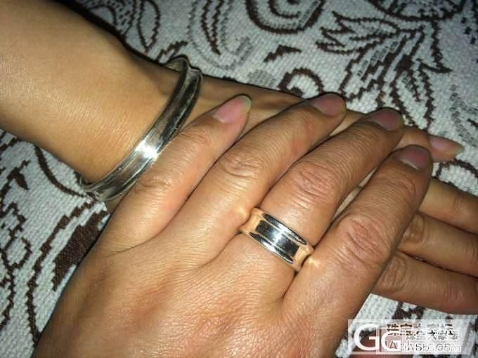 新DIY的手镯指环套装_手镯戒指银