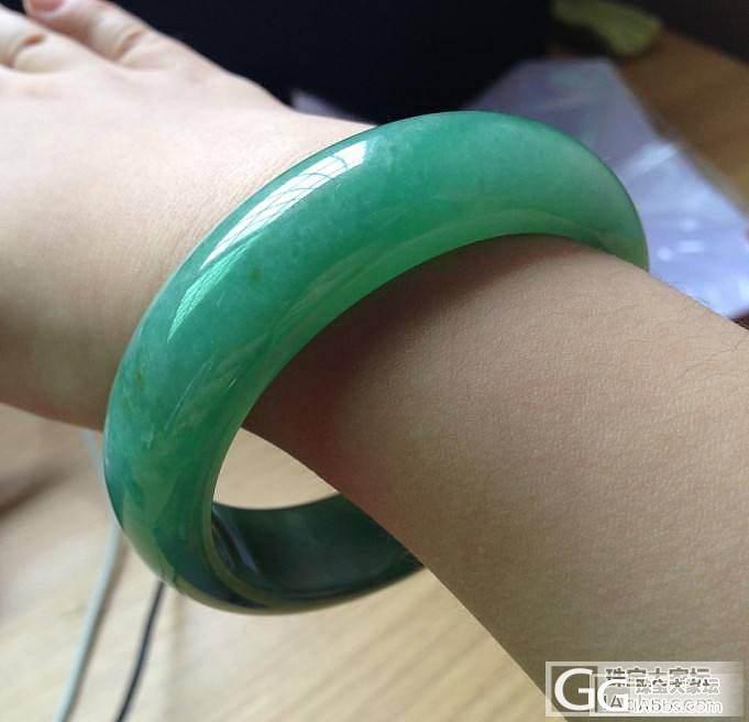 【坛友底价:6.9万】甜甜的满果绿:..._翡翠
