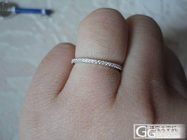 晒晒送闺蜜的生日礼物·····还有我自己买的小戒指····_吊坠戒指银
