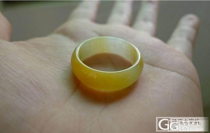 【平洲玉器】黄翡戒指_翡翠