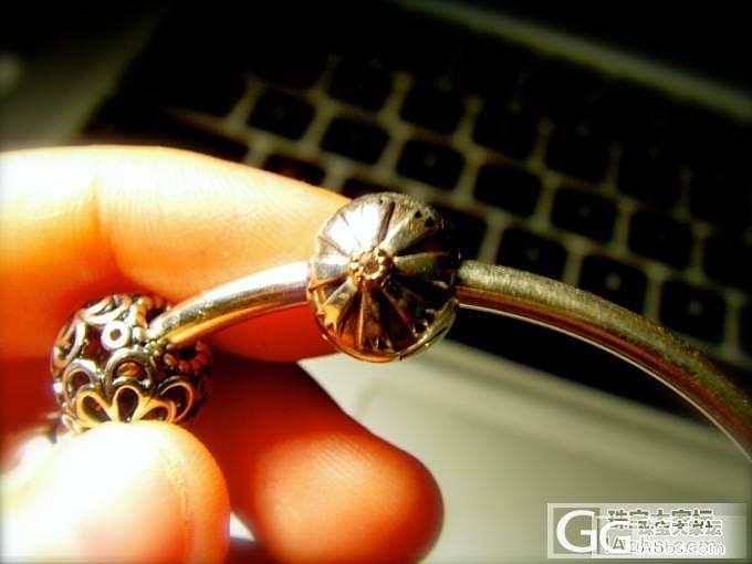 一些Pandora的珠子~_手镯银
