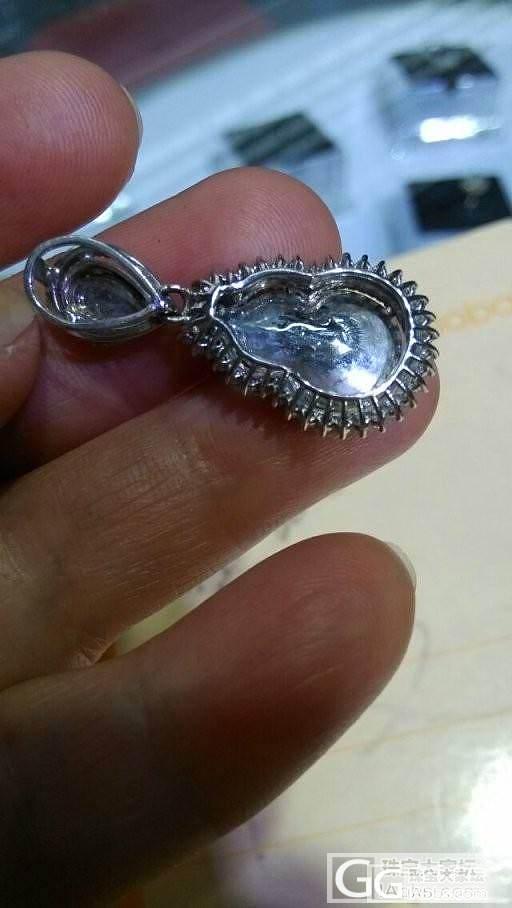 【心怡珠宝镶嵌】简单、平淡镶嵌既大方又耐看。_镶嵌珠宝