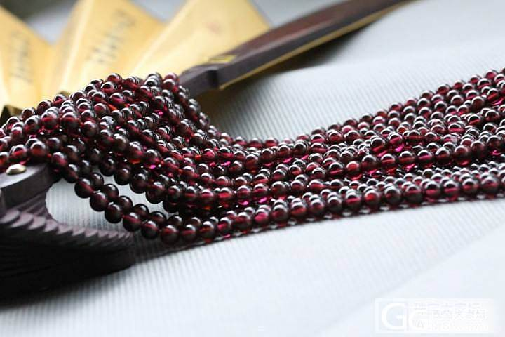 5mm玫红石榴石 半成品 可以DIY_宝石