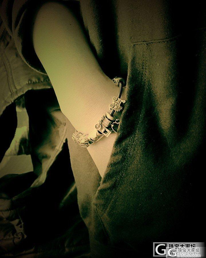 。。。正山结合的潘潘。。。拆拆串串。..._手链银
