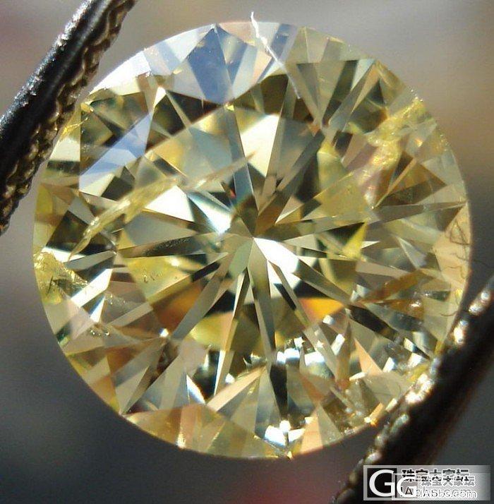 求达人指点,黄钻_彩钻钻石