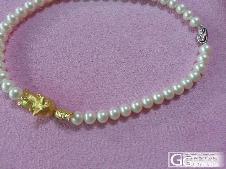 金版第一帖--当珍珠遇上猫_串珠金