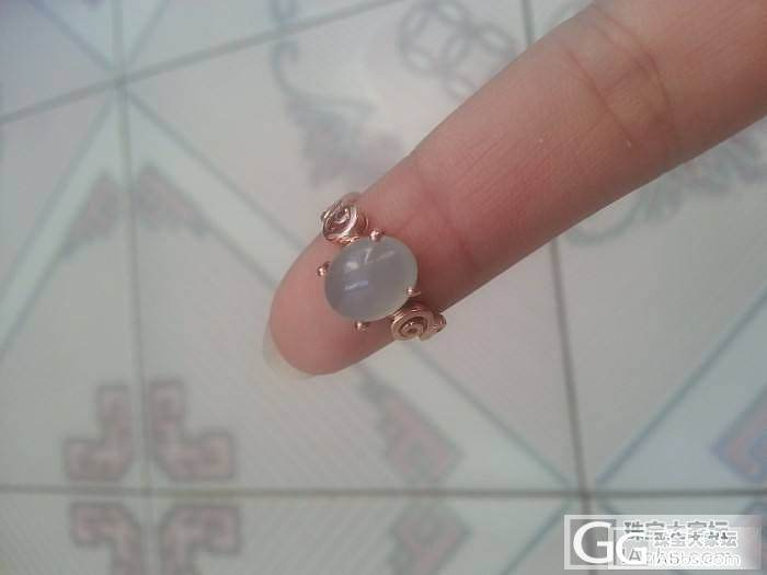 盼了20天,我的翡翠戒指终于镶嵌完了..._翡翠