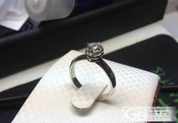 在论坛里败的第一个戒指_钻石