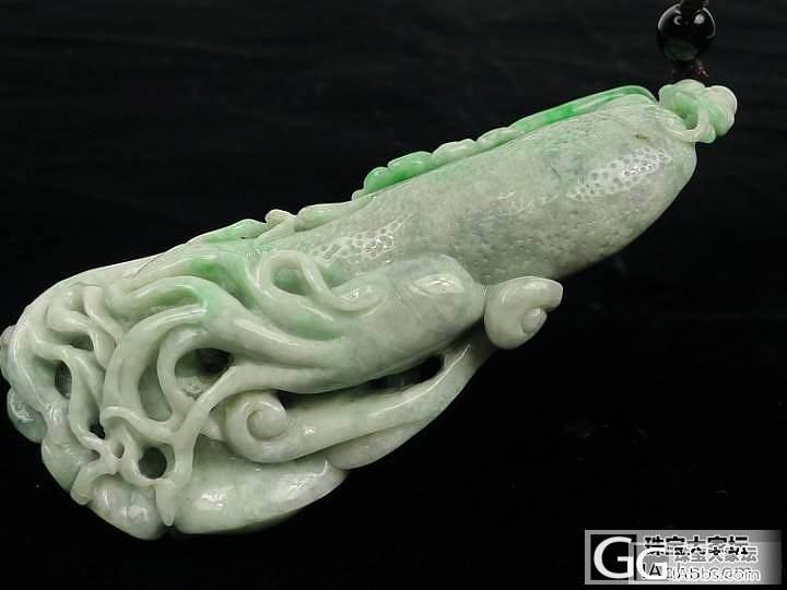 这个翡翠雕件值得收藏吗?_翡翠