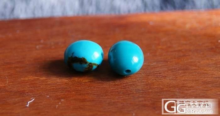 我的绿松石手链珠。。。_松石