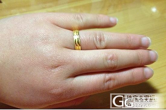 有一枚全新周大福的戒指应缺米低价转。..._金