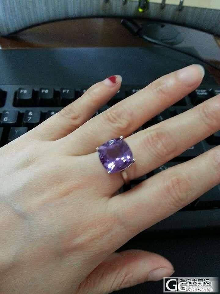好美的紫晶公主方_水晶
