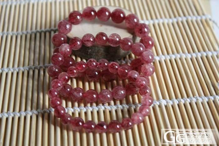 彩月光、海蓝宝、天河石、草莓晶。。晒..._宝石
