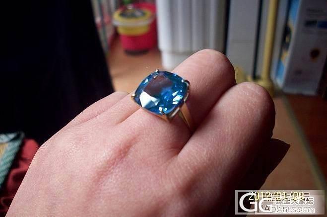 亏转闲置~~拉利玛手链,托帕戒指,碧..._宝石
