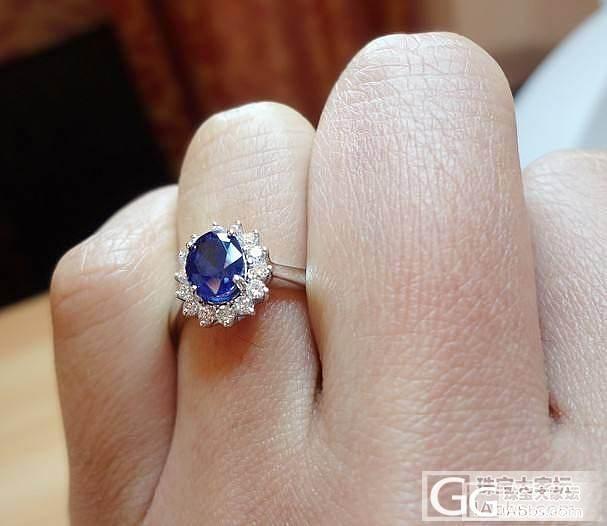 已售两件【卡卡珠宝】现货蓝宝石戒指 ..._宝石