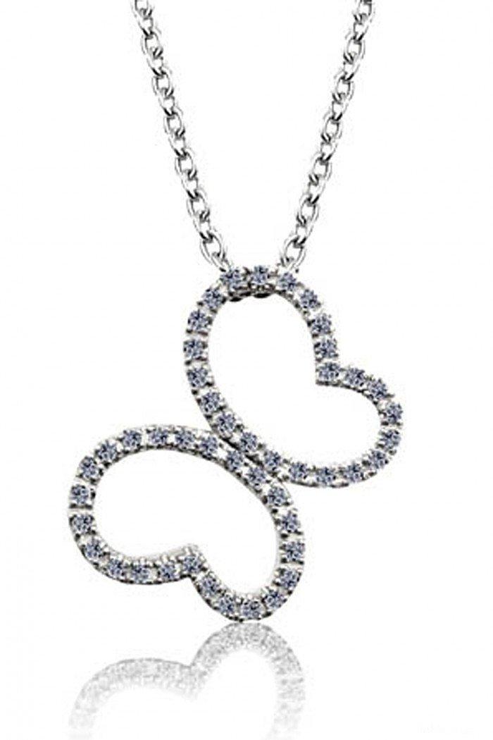 几款钻石坠,你喜欢哪款,白金,黄金还..._钻石