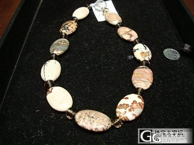 一条漂亮石头项链,请高手看看是什么石_奇石