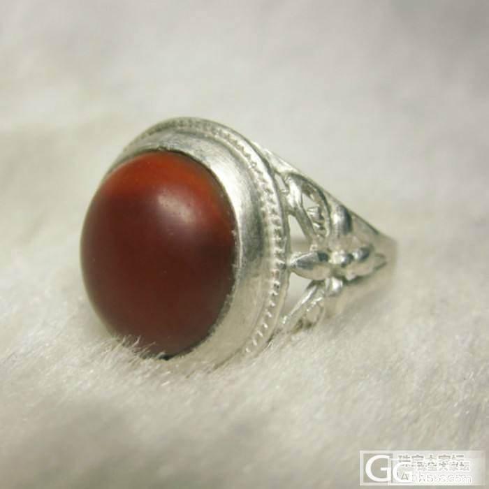 最近镶嵌的绿松石戒指_珠宝