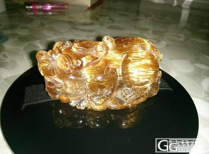 晒晒我的宝贝,极品铜发貔貅,大师级雕刻_珠串