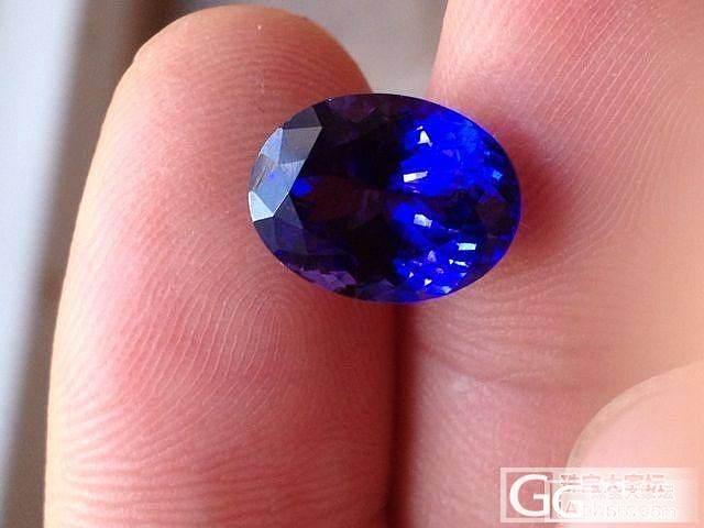 坦桑原来这么像皇家蓝 有木有~~_宝石