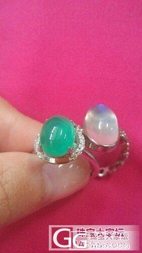 新入的澳洲绿玉髓戒指一只_玉髓