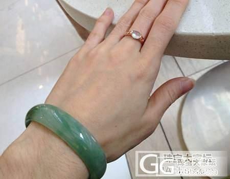 【Dudu】3个小灯泡白蛋戒指(已售..._翡翠