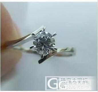 喜爱滴钻戒, VS F  0.31ct_钻石