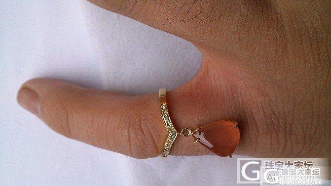 风水戒指~~ 简单的美~~_镶嵌珠宝