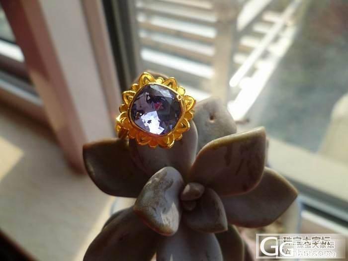 我的JG向日葵回家啦_吊坠戒指金