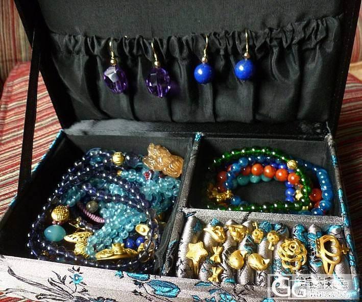 近期DIY的小东西,我的宝贝小盒子也露个小脸~_串珠磷灰石金