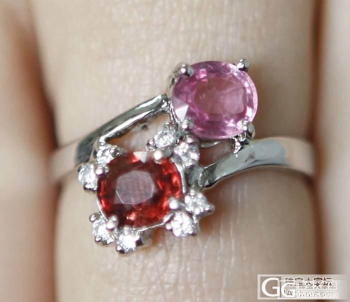 新做了个戒指,欢迎拍砖_尖晶石刻面宝石