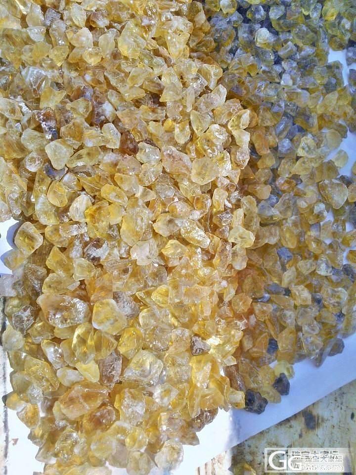乳黄晶补图,比普通黄水晶真的黄多了!_水晶
