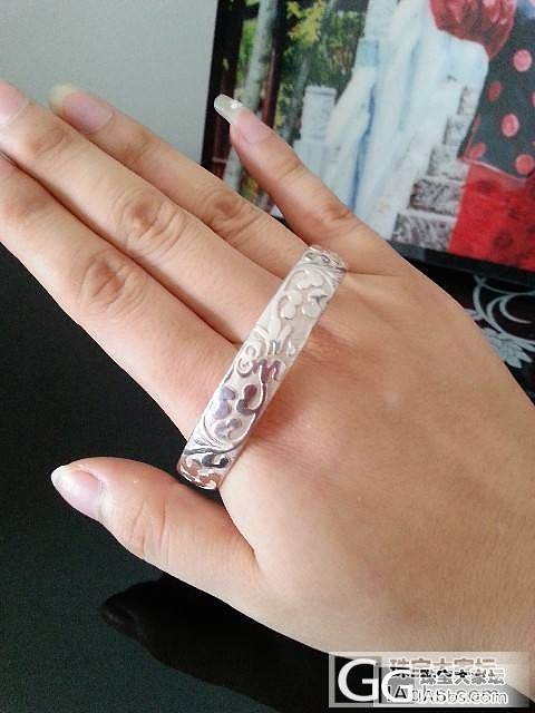 我的银镯见证了我的爱情_手镯银