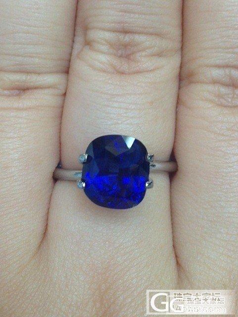 5.05ct蓝宝石,请大家鉴赏!_蓝宝石