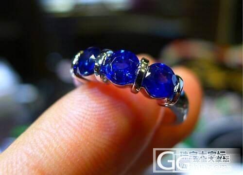 比较亲民的戒指款式_蓝宝石